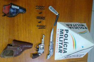 Abre Campo: Arma de fogo irregular é apreendida pela PM