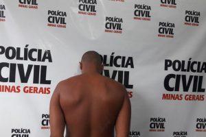 Manhuaçu: PC prende suspeito de tráfico de drogas e acusado de estupro