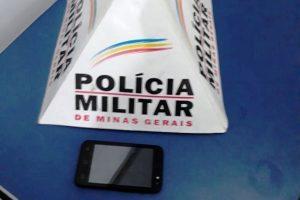 Manhuaçu: Autor de furto de celular é preso pela PM