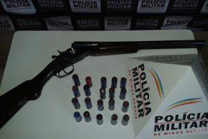 Mutum: Posse ilegal de arma de fogo