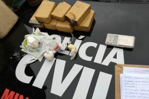 Sábado amanhece com Operação da PC. 8 acusados de tráfico são presos