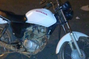 Manhuaçu: Autor conhecido por crimes é preso com motocicleta adulterada