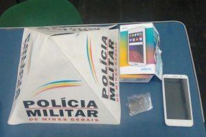 Manhuaçu: PM prende autores mexicanos por furto de celular