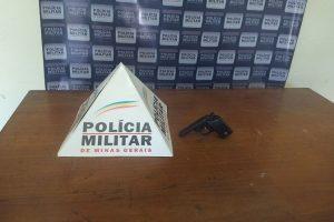 Manhuaçu: PM apreende garrucha irregular