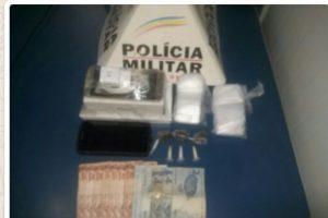 Manhuaçu: PM apreende drogas após receber denúncia