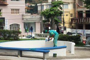 SAMAL revitaliza Praça Cordovil Pinto Coelho