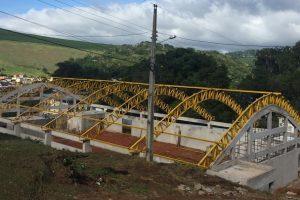 Ginásio de Realeza segue em construção pela Prefeitura de Manhuaçu