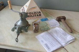 Santa Margarida: PM prende autor de furto em residência