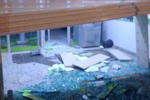 Santa Margarida: Sicoob de São Domingos é alvo de bandidos; caixa explodido