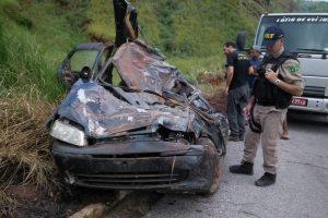 Reduto: Três mortos em acidente na BR-262