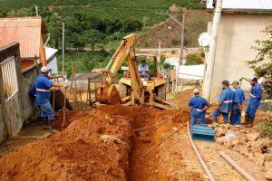 Rede de 600 metros vai melhorar abastecimento de água em Dom Corrêa