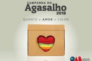 OAB Manhuaçu lança Campanha do Agasalho 2018