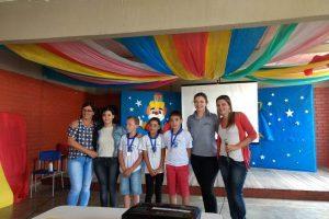 Equipes do ESF e NASF-AB Ponte da Aldeia premiam alunos