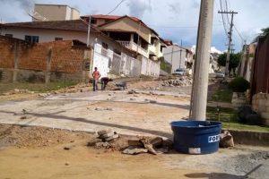 Manhuaçu: Rua é revitalizada no Bairro Pinheiro