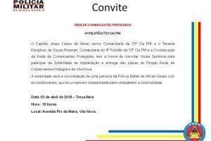 PM implanta Rede de Comerciantes Protegidos na Vilanova