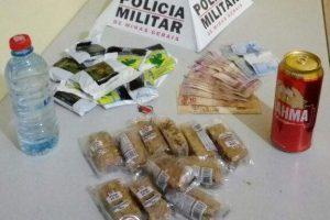 Lajinha: Polícia Militar prende casal por furto em bar