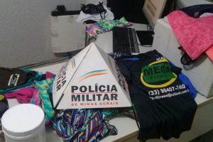 Manhuaçu: PM prende autor de furto em academia