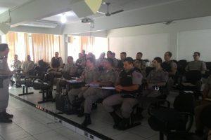 Manhuaçu: Comandantes de Fração do 11º BPM discutem sobre a Gestão de Desempenho Operacional
