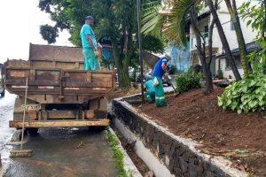 SAMAL inicia plantio de grama no canteiro da BR 262