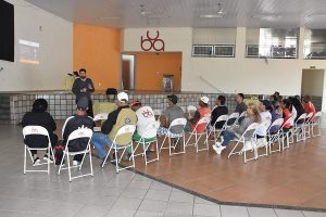 Palestra motivacional é realizada para funcionários da UBA