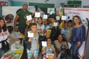 Manhuaçu: Equipe de Endemias da SMS realiza palestra de conscientização em escola e creche