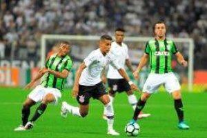 Corinthians vence o América de 1 a 0