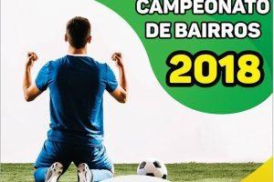Futebol: Campeonato de Bairros começa domingo