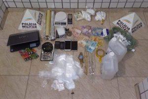 Manhuaçu: Casal é preso com drogas pela PM