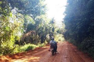 Manhuaçu: Melhorias em estradas prosseguem em todo o município