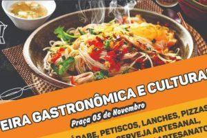 Feira Gastronômica movimenta Manhuaçu nesta sexta-feira