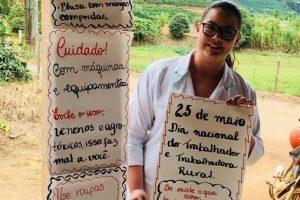 ESF Realeza promove palestra sobre segurança nas atividades para Trabalhadores rurais