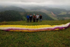 Vereador Juninho Linhares apoia praticantes do voo livre