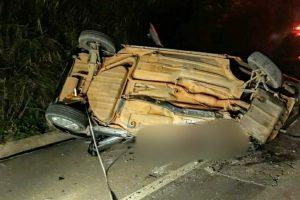 Inhapim: Dois homens morrem em acidente na BR 11
