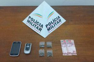 PM prende duas pessoas envolvidas com drogas em Bom Jesus de Realeza