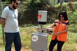Monitoramento de chuvas é automatizado em Manhuaçu