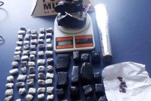Martins Soares: 80 buchas de maconha e quase 1 quilo de cocaína são apreendidos pela PM