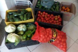 Banco de Alimentos doa verduras e legumes para o SUS Manhuaçu