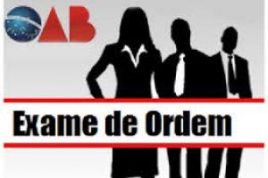 OAB remarca para 10 de junho segunda fase do Exame de Ordem