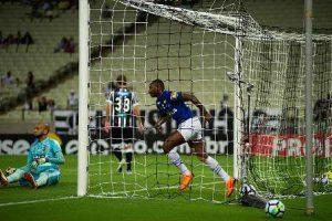 Com gol de Sassá Cruzeiro derrota o Ceará