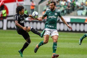 Atlético perde para o Palmeiras com gol nos acréscimos