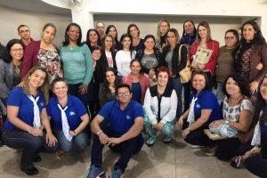 Mobilizados professores dos 4º e 5º anos com oficinas pedagógicas