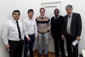Diretoria da OAB Manhuaçu visita juiz de Manhumirim