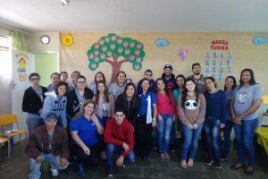 Oficinas pedagógicas são realizadas com profissionais das creches municipais de Manhuaçu
