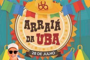 Arraiá da UBA será neste sábado