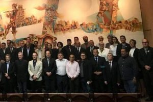 Presidente do Sindicomércio Manhuaçu na nova diretoria da Fecomércio