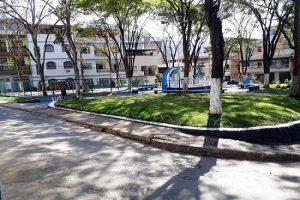 Praça Martins Fraga cada vez mais bonita!