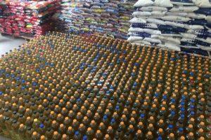Passeio Ciclístico: Cerca de 6 mil quilos de alimentos foram entregues a entidades