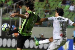 América-MG e Fluminense empatam sem gols