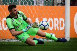 Goleiro do América defende pênalti e segura o Palmeiras: 0 a 0