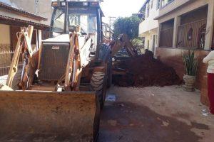 Prefeitura realiza obras importantes para o dia a dia da população